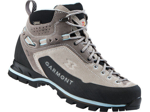 Garmont Vetta GTX Mid Cut Shoes Women Warm Grey/Light Blue